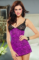 Eye Catching Leopard Chemise