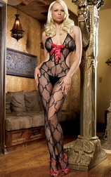 Sexy Lace Front Bodystocking
