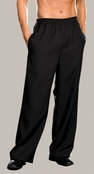 Men's Basic Black Pant
