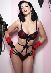 Seducing Little Vixen Strappy Teddy