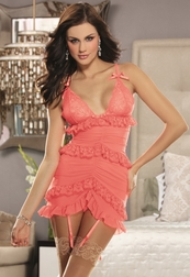 White Diamond End Of Innocence Chemise