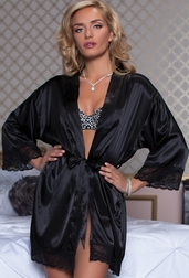 Enchanting Night Satin Robe
