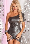 Ignition Ruched Mini Dress