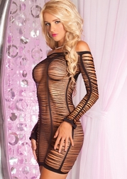 String Me Along Shredded Dress