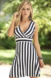 Sexy In Stripes Dress
