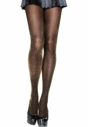 Lurex Opaque Tights