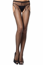 Industrial Net Suspender Pantyhose