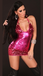 Get The Party Started Fuchsia Mini Dress