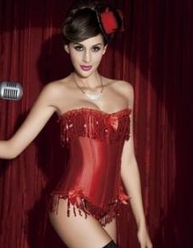 Stealing The Show Burlesque Corset