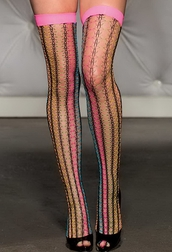 H.O.T. Sinfully Sweet Fishnet Stockings