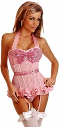 Sweat Pea Sequin Corset