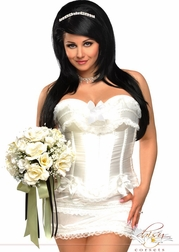 Plus Size Sweetly Innocent Corset Set