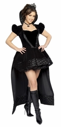 Plus Size 2 PC Wicked Queen Costume