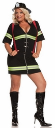 Plus Size Ms. Blazin' Hot Costume
