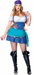 Plus Size 2 PC Gypsy Princess Costume