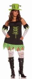Plus Size Monster Mistress Costume