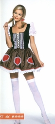 Plus Size Heidi Costume