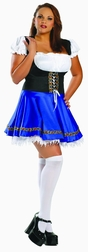Plus Size 1 PC Serving Wench Costume