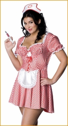Sexy Candy Striper Costume