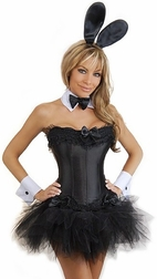 Plus Size Naughty Bunny 5 PC Costume