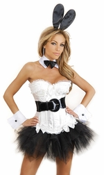 Plus Size Irresistible Bunny 6 PC Costume