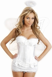 Plus Size Heavenly Angel Costume