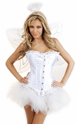 Plus Size Fallen from Heaven Angel Costume