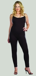 Plus Size Basic Unitard