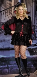 Plus Size Bella Vamp Costume