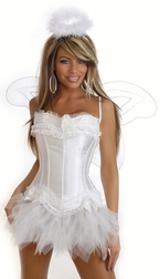 Plus Size 4 PC Sexy Angel Costume