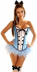 Plus Size 4 PC Sexy Alice Costume