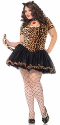 Plus Size Tantalizing Tabby Costume