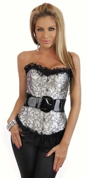 Shine Tonight Belted Corset