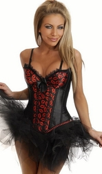 Hot Lips Burlesque Corset & Pettiskirt