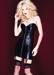 Mystique Pleather Dress