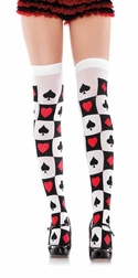 Poker Suit Stockings