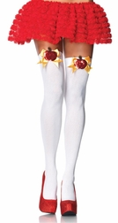 Poison Apple Thigh Highs