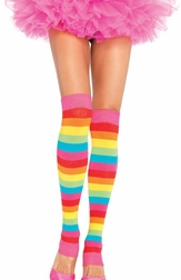 Rainbow Star Leg Warmers