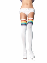 Over The Rainbow Thigh Highs