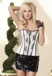 Buzz Of The Town Reversible Corset