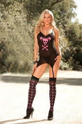 Hearts Collection Punk Me Bustier Set