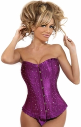 Together As One Strapless Sparkle Corset