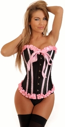 """Bubblegum Dreams"" Burlesque Corset"