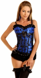 Naughty Sensations Burlesque Corset