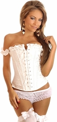 Innocent Ivory Embroidery Corset