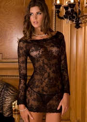 Mesmerized 2 PC. Long Sleeve Chemise