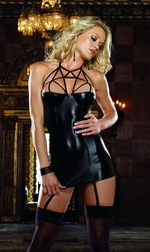 Caged Heat Chemise & Thong