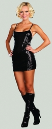 Sequin Starter Dress