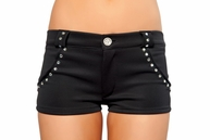 Dance With Me Rhinestone Shorts