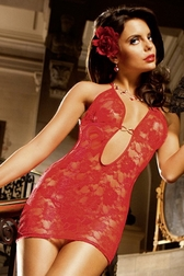 Red Darling Sexy Lace Chemise